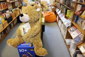 Kinderbuch erkennbar am Maskottchen